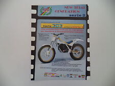 advertising Pubblicità 1987 MOTO FANTIC TRIAL 303 PROFESSIONAL 2