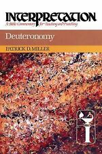 Deuteronomy: Interpretation: A Bible Commentary for Teaching and Preaching (Int