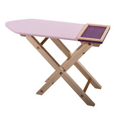 New Childrens Role Play Wooden Ironing Board Toy Nursery Gift