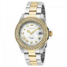 Invicta Angel White Dial Two-tone Ladies Watch 20503