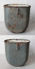 WWI MARKED AUSTRIAN HUNGARIAN ARMY BELT FIELD FLASK CANTEEN CUP / 1916