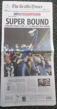 SUPER BOUND The Seattle Times Full Newspaper Monday, January 20th 2014