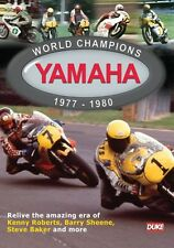 World Champions Yamaha 1977 - 1980 New DVD Motorcycle Sport Sheene Baker Roberts