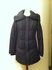 New With Tags MEXX Women Winter Coat Knee Lenght Jacket Black SZ 36