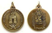 Medaglia Guardia Di Finanza Inaugurazione Sezione A.N.F.I. Di Chieri 1988