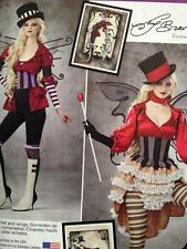 Simplicity Sewing Pattern 0791 1301 Misses Steampunk Costume Size 14-22 Uncut