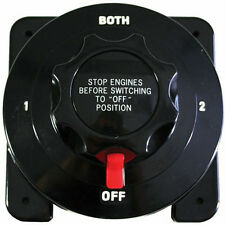 Heavy Duty Dual Battery Selector Switch Boat Caravan Motorhome Shed 4WD Fishing