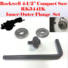 "Outer & Inner Flange Lock Blade Bolt Key for Rockwell 4-1/2"" Compact Saw RK3441K"