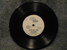 """45 RPM 7"""" Record Dean Martin I'd Cry Like A Baby Capitol Records DB-2037 VG+"""