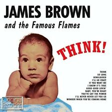 JAMES BROWN AND THE FAMOUS FLAMES - THINK (NEW SEALED CD) ORIGINAL RECORDING