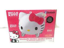 Hello Kitty Bluetooth Speaker Wireless System Pink Girls Music Xbox PSP New