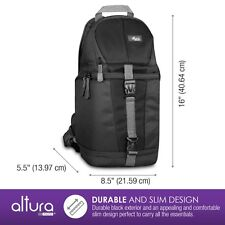 Altura Photo Camera Sling Backpack for DSLR Cameras
