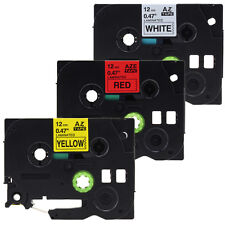 3PK TZe TZ 231 431 631 Label Tape For Brother P-Touch PT-E550W PT-H100 E500