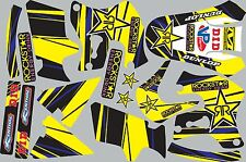 1996-1998 Suzuki RM125 RM250 RM 125 250 Graphics Decal fender shrouds sticker
