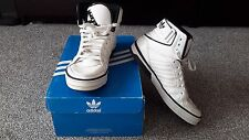 Adidas orginal white with black trainers sneakers spacediver uk6