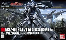 HG UC Gundam Unicorn ver. MSZ-006A1 Zeta Plus 1/144 scale model kit #181 Bandai