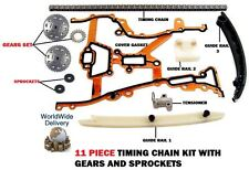 FOR OPEL CORSA B C 1.0 1.2 1.4 TWINSPORT 1996-  NEW TIMING CAM CHAIN KIT + GEARS