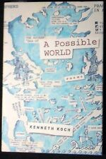 A Possible World: Poems Kenneth Koch October 2002 HB/DJ 1st ed. NEW
