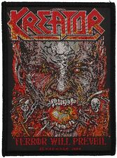 KREATOR - Patch Aufnäher - Terror will prevail 7x10cm