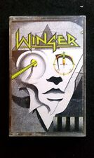Winger - Winger on Cassette Atlantic Records 1988 Used