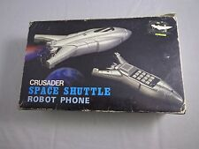 Space Shuttle Robot Phone Crusader actual telephone w/ box Columbia co.SR500