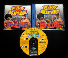 READY 2 RUMBLE BOXING Dreamcast Dc Versione Europea PAL ••••• COMPLETO