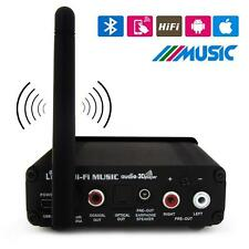 Bluetooth Wireless Digital Optical Optic Fiber HiFi Audio Music Receiver J2J0