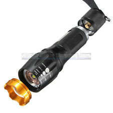New Military Grade Tactical LED Flashlight 1600LM 2000x Waterproof Militac Style