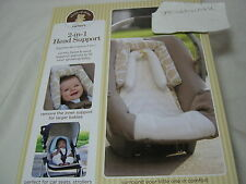 NEW Child of Mine by Carter's Baby 2-in-1 Head Support ~ Giraffe Print Tan/Ivory