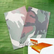 2pcs Camo PVC Patch Inflatable Boat Raft Kayak Canoe Repair Material 12 x 20 cm
