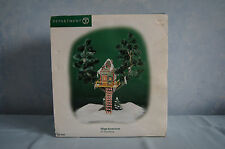 Department 56 Elf Tree House Village Accessories Christmas #56446 retired GUC
