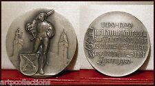 1929 1429 Suisse Médaille Tir Argent Huguenin Swiss Shooting Luzern