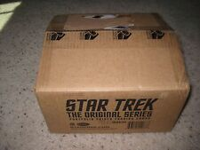 STAR TREK PORTFOLIO PRINT EMPTY Display 12 Box Collector CASE Original Series