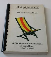 Hammary La-Z-Boy 50th anniversary spiral cookbook cook book