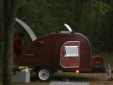 Big Woody Teardrop Camper Trailer Plans CD  FREE SHIP
