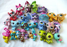 Lot 28 Littlest Pet Shop Figures Regular Baby Tiny Punk Traditional Signed 2007?