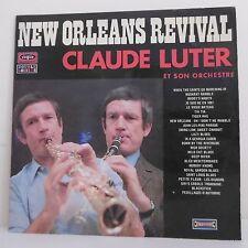 """2 x 33T Claude LUTER Vinyles LP 12"""" NEW ORLEANS REVIVAL Clarinette VOGUE 546"""