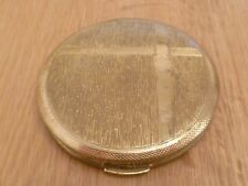 Vintage Gold Colour Compact Press  (Collectable)