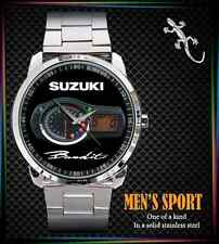 New Suzuki Bandit GSF 400 600 1200 1250 Naked Bike Speedometer SPORT METAL WATCH
