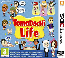 Tomodachi Life (Nintendo 3DS, 2014) - New & Factory Sealed