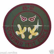 Patch N47 B2 Usaf - Combined Test force Toppa senza velcro