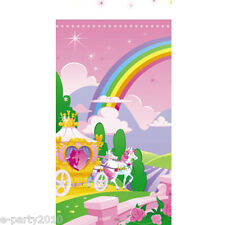 STORYBOOK PRINCESS PLASTIC TABLE COVER ~ Birthday Party Supplies Decorations
