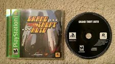 GRAND THEFT AUTO GTA GH GREATEST HITS PLAYSTATION 1 PS1 COMPLETE!! NEAR MINT!!