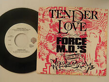 Force M D's 45 w/ps TENDER LOVE /  INST. ~WB VG++