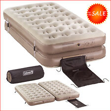 Twin Beds Inflatable Mattress Air Bed Pump Camping Sleeper ,1 King Size Coleman