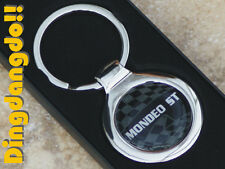 Mondeo ST Chrome Keyring Key Ring Gift Ford
