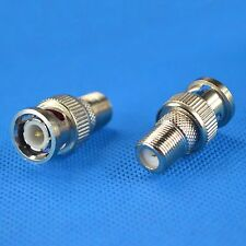 10pc BNC male plug to F-Type F female jack RF coaxial cable adapter convertor