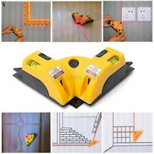 Right Angle 90 Degree Vertical Horizontal Laser Line Projection Tools Yellow G76