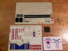 FX-48 Williams Renault FW14 Decal Set - Kyosho 1:8 Scale F1 series Formula 1