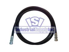 """3/8"""" x 36"""" 2-Wire Hydraulic Hose Assembly w/Female JIC"""